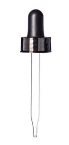 Dropper Glass For 1 oz Bottles (Bottle Sku 031839) Each By Western Plastics