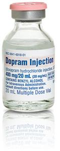 Dopram 20Mg/ml Multi Dose Vial 20cc By West-Ward Pharmaceutical Corp