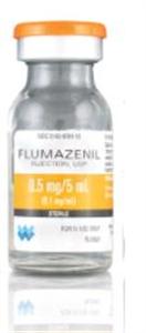 Flumazenil 0.1Mg/ml Multi Dose Vial - Nonreturnable 5ml By West-Ward Pharmaceuti
