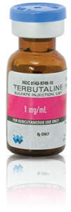 Terbutaline Sulfate Inj 1Mg/ml Sdv 1cc By West-Ward Pharmaceutical Corp