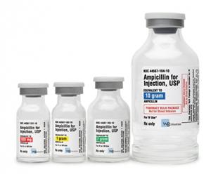 Ampicillin Inj 2gm Powder 20cc By World Gen LLC