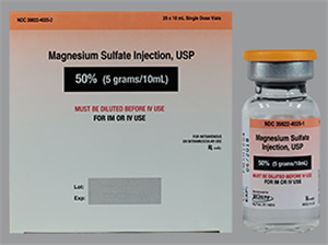 Magnesium Sulfate Injection 50% 10ml By Xgen Pharmaceuticals