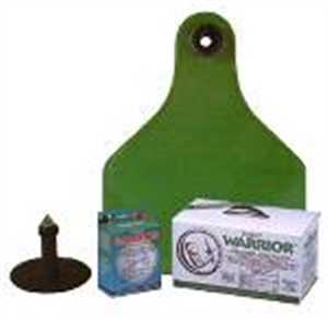 Warrior Insecticide Ear Tags Use With #002381 Applicator Y Tex Ultra B20 By Y Te