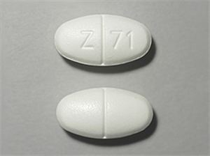 Metformin Tabs 1000mg - Oval White Scored B100 By Zydus Pharmac