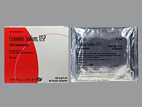 RX ITEM-Cromolyn Sodium 20Mg/Ml Amp 96X5Ml By Mylan Pharma