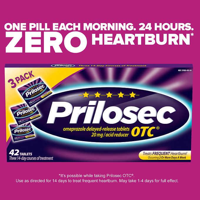 Prilosec Otc 42 Tablets3x14tab