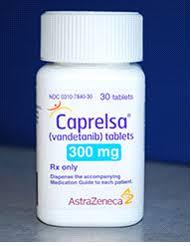 RX ITEM-Caprelsa (Vandetanib) 300Mg Tab 30 By Astra Zeneca Pharma