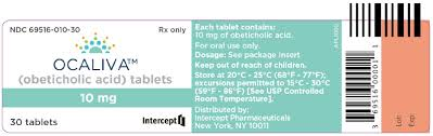 Ocaliva (Obeticholic Acid) 10mg tab 30 by Intercept Pharma