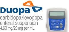 BRAND: DUOPA NDC: 00074-0033-01,74003301 UPC: 3-00743-01207-1,300743012071 Duopa Enteral Suspension 100ml Cartridge by Abbvie Pharma