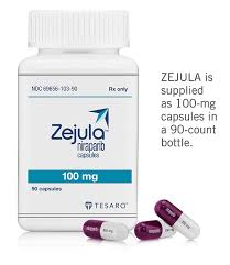 RX ITEM-Zejula 100Mg Capsules 1X30 Ea By Tesaro Inc.