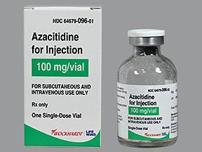 RX ITEM-Azacitidine 100mg SDV Vial by Wockhardt Pharma