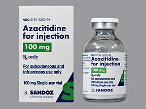 RX ITEM-Azacitidine 100mg SDV Vial by Sandoz Pharma
