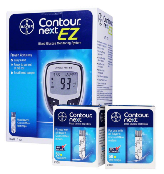 CONTOUR NEXT EZ METER KIT DME CONTOUR NEXT EZ METER KIT DME  Diabetes Div. Item No.:OTC173351 Ndc No.:00193-9628-01 0193-9628-01 00193962801 0193962801 <br> Upc No.:  Item Description: Blood Glucose M