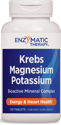 Krebs Magnesium Potassium 120 Tab By Enzymatic Therapy Products Item No.: OTCkerbsmag NDC No.: UPC No.: 763948077663 Item Description: Misc Specialty Supplements Other Name: :Magnesium And Potassium T