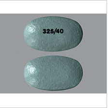 YOSPRALA DR 325/40 MG TAB 30 by ARALEZ PHARMACEUTICALS  325/40