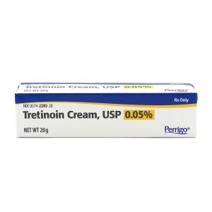 RX ITEM-Tretinoin 0.05% Cream 20Gm By Paddock Pharma