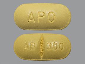 RX ITEM-Abacavir 300mg Tab 60 by APOTEX Pharma