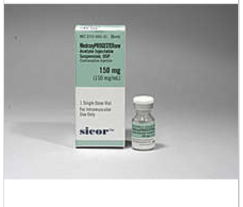 RX ITEM-Medroxyprogesterone Acetate 150Mg/Ml Vial 1Ml By Teva Pharma
