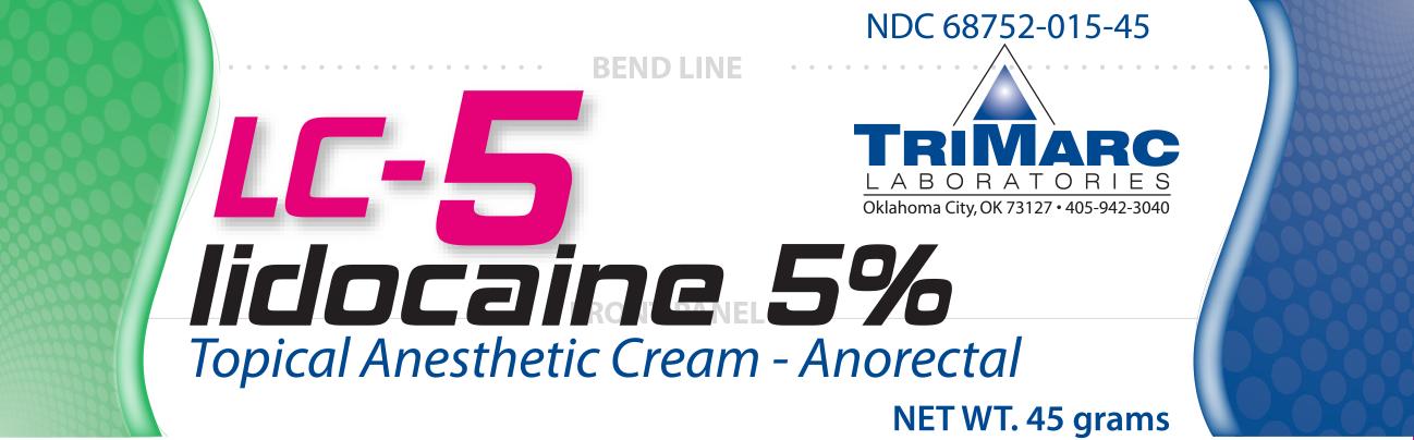 Lc-5 Lidocaine 5% Cream 45 gm By Pd-Rx Otc