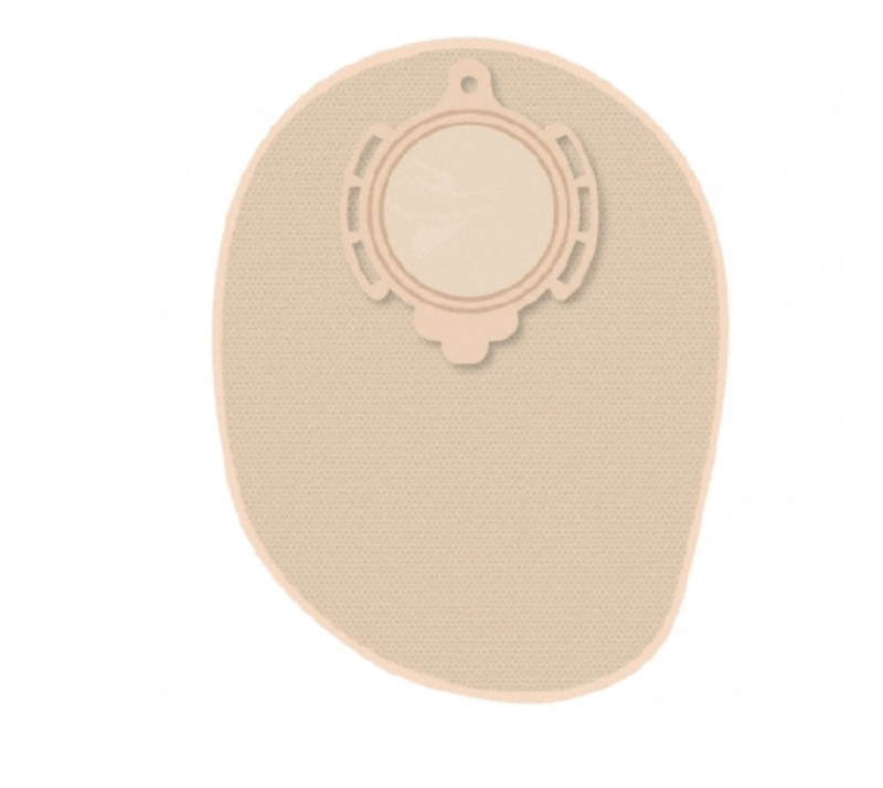 B.BRAUN Ostomy Pouch Flexima� 3S Two-Piece System 8 Inch Length Closed End