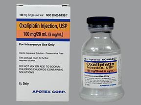 Rx Item-Oxaliplatin 100Mg/20ml Vial 20ml By Apotex Pharma