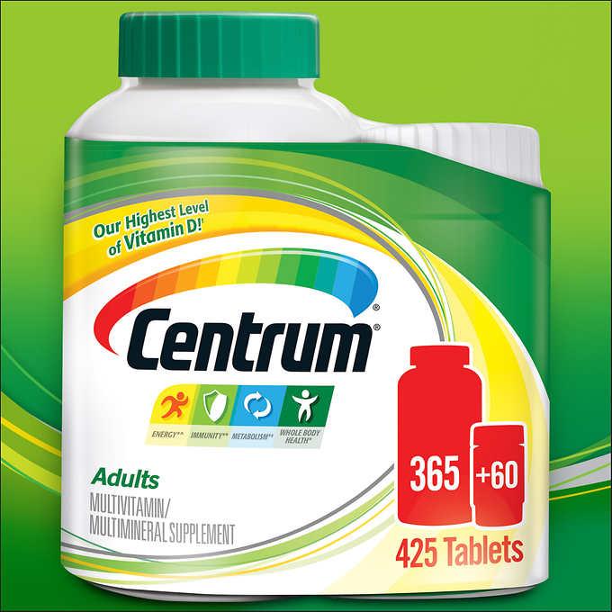 Centrum Adults Under 50 425 Tablets