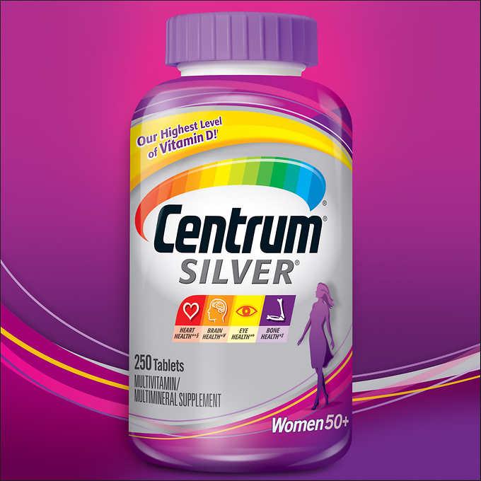 Centrum Silver Women 50+, 250 Tablets