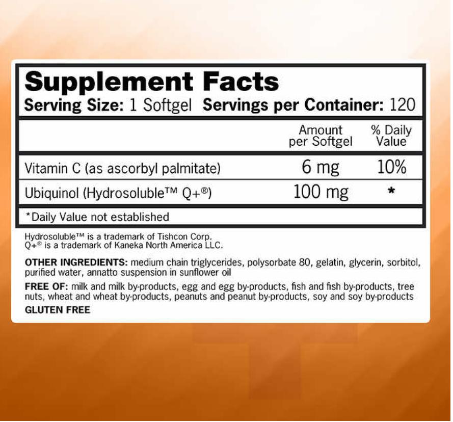 '.Qunol Mega CoQ10 100 mg., 120 .'