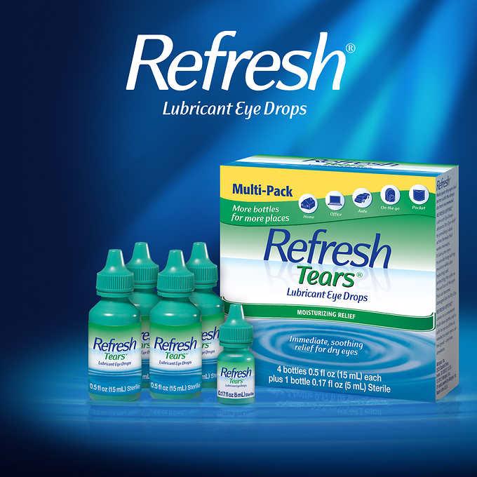 Refresh Tears Multi-Pack, 65 ml by ALLERGAN