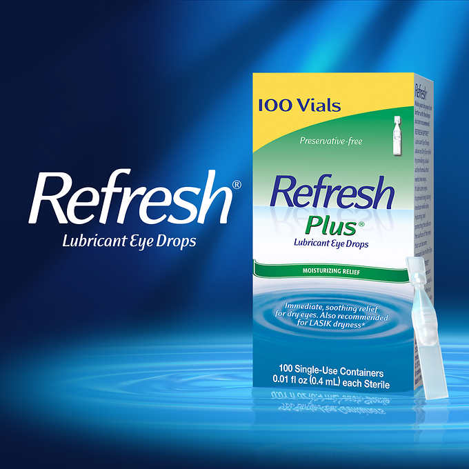 Refresh Plus 100 Single Use Containers