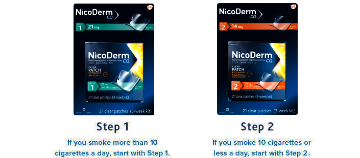 Nicoderm Cq Clear Patches 21mg 21 Patches