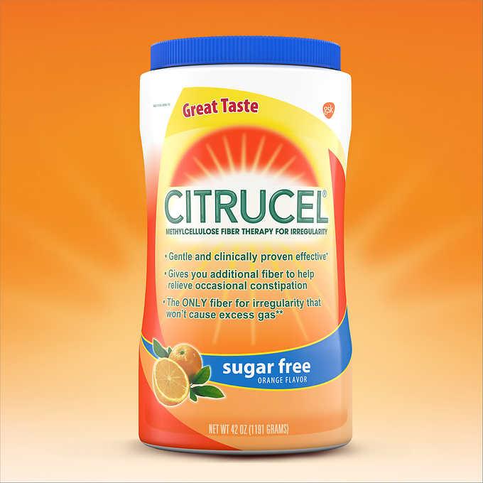 Citrucel Fiber Sugar Free 42 Ounces
