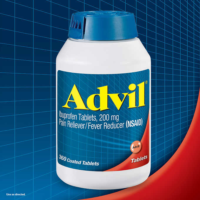 Advil Ibuprofen, 200 mg., 360 Tablets. Advil Tablets 200 By Pfizer Consumer Healthcare Item No.: 4381442 NDC No.: UPC No.: 305730154598 Item Description: Ibuprofen&Other Anti-Inflamito Other Name: :Ad