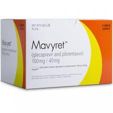 RX ITEM-Mavyret 100/40Mg Tab 84 By Abbvie Pharma