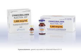 Cyanocobalamin 1000mcg/ml Vial MDV MDV 10X10 ML BY SOMERSET THERAPEUTICS