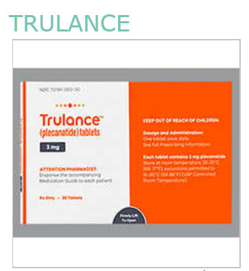 RX ITEM-Trulance 3 Mg Tab 30 By Synergy Pharma
