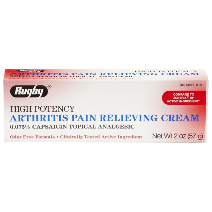 Arthritis Pain Capsaicin Hp 0.075% Cream 60gm By Major Pharma