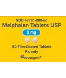 RX ITEM-Melphalan 2Mg Tab 50 By Alvogen Pharma
