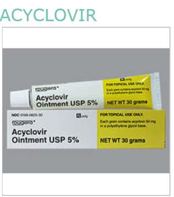 Acyclovir 5% Ont 30gm by Sandoz Pharma Generic Name: ACYCLOVIR Description: ACYCLOVIR OI 5% 30GM  NDC: 00168-0825-30 UPC: 301680-825304 Contract: NBG SOURCE BACKUP C APPROVAL Contract Alias: