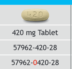 RX ITEM-Imbruvica 420Mg Tab 28 By Pharmacyclic Healthcare