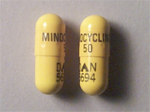Minocycline Caps 50mg By Actavis