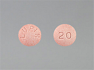 Lisinopril Tablet 20 mg By Bluepoint Labs