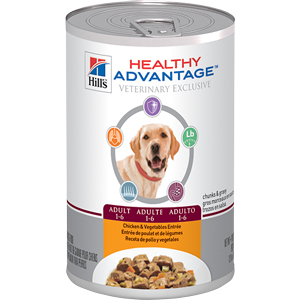 Healthy Advantage Canine Adult Chicken & Vegetables Entree 12.8 oz - - Healthy A