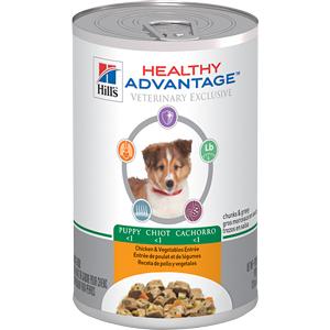 Healthy Advantage Canine Puppy Chicken & Vegetables Entree 12.8 oz - - Healthy A