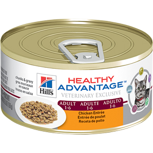 Healthy Advantage Feline Adult Chicken Entree 5.5 oz - - Healthy Advantage Chick
