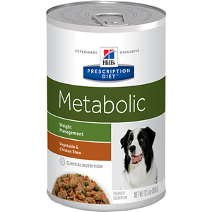 Hills Canine Adult - Metabolic Vegetable & Chicken Stew - Hills Account Requir