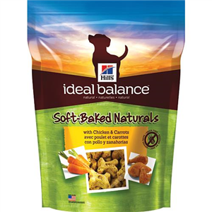 Hills Ideal Balance Canine Adult - - Soft-Baked Naturals With Chicken & Carrots