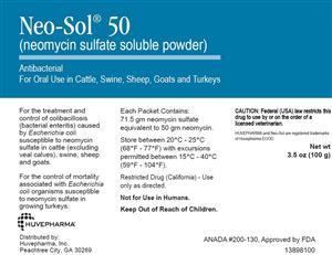 Neo-Sol 50 (500 Gram) By Huvepharma