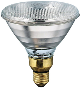 Heat Lamp Bulb 100W Clear - Phillips Medium Base By Satco Products