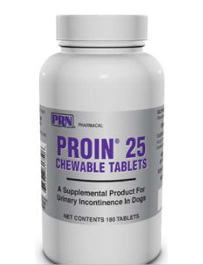 Proin 25mg (Phenylpropanolamine Hcl) Chewable Tablets 180 Count By Prn